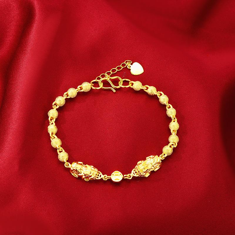 Gold Bracelet for Women Wedding www.1mrk.com