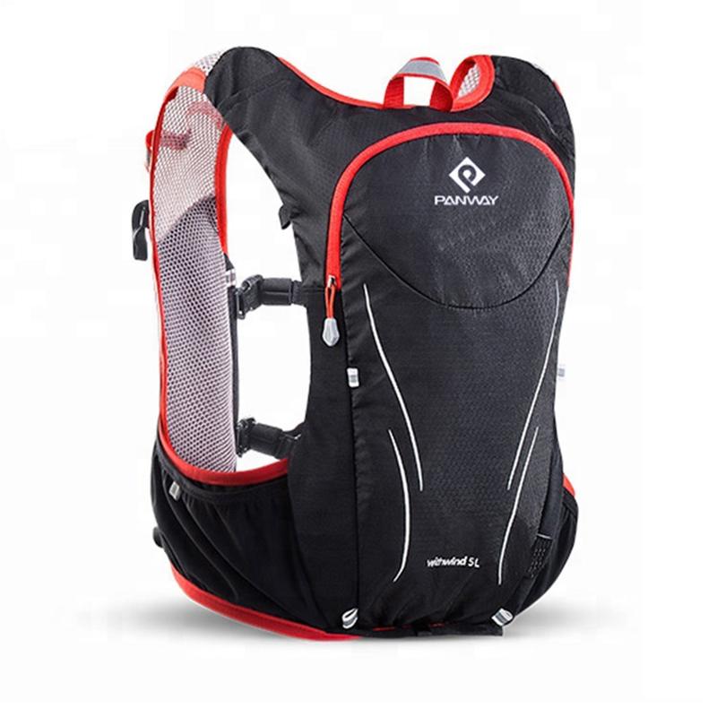 Professional Factory Custom High Quality lightweight Gym Sport waistcoat trail running  hydration backpack