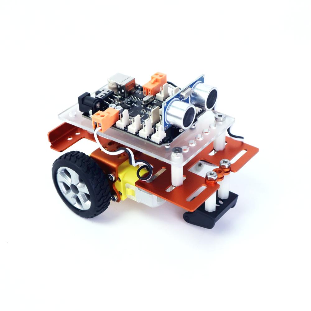 Комплект обучающего программируемого робота Aduno Starter, комплект программируемого робота для школьников
