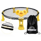 Blinngo Spikeball Game Set Indoor Backyard Outdoor Games For Adults Kids Family With Strip LED Light Available Playing At Night