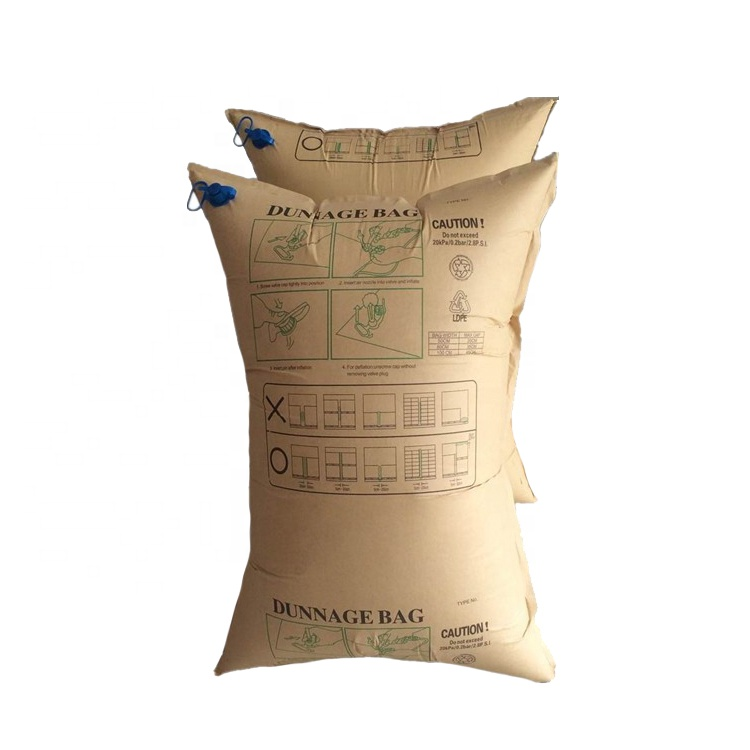 Amazon And Ebay Hot Selling PE/PA Seismic Inflatable Cushion Bag Air Dunnage Bag For Protect Cargoes Kinds Of Sizes For Option