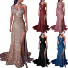 Plus Size Ladies Party Dresses One Shoulder Formal Evening Dress Long Party Wear Gowns for Women