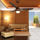 Ac Wood Blade Fan 1stshine 3 ABS Wooden Blade AC Decorative Ceiling Fan With Mountable Wall Control And Light