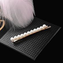 Роскошные большие заколки с искусственным жемчугом, заколки для волос для женщин, модные ювелирные украшения, аксессуары для волос, свадебн...(Китай)