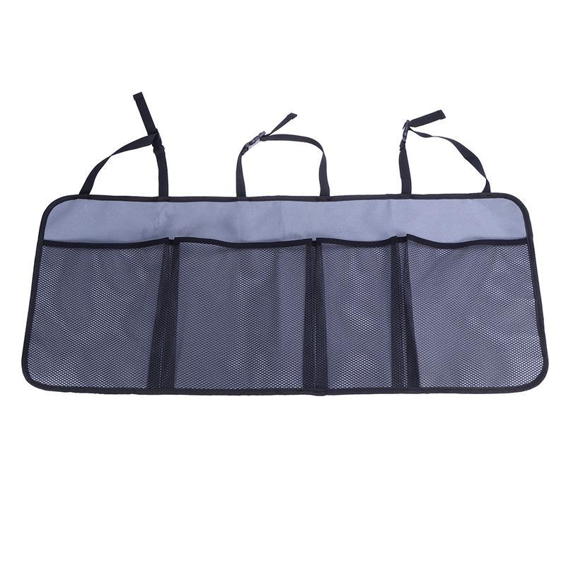 Универсальный автомобильный органайзер для багажника, сумка для хранения на заднем сиденье, складной органайзер для багажника, Сетчатая Су...(Китай)