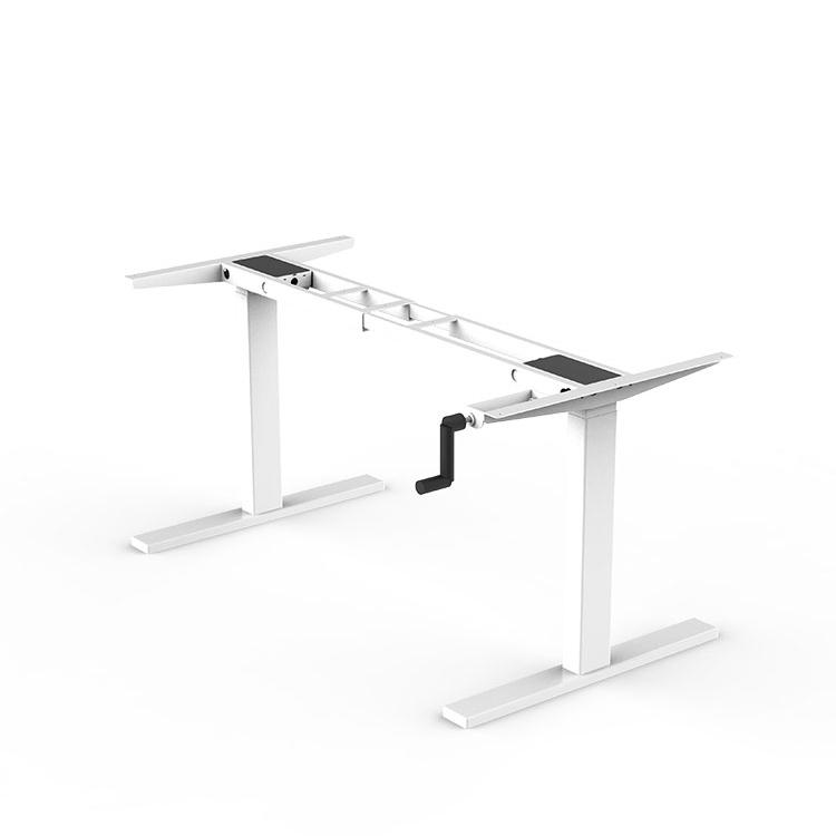 Ручная коленчатая подставка стол с ручным управлением стальная система эргономичный стол с регулируемой высотой