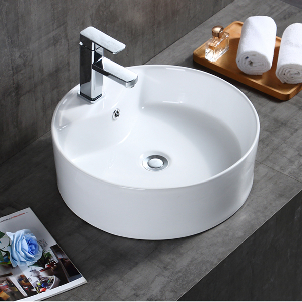 Tarpul China White Color Bathroom Washbasin Ceramic Hand Wash Sink Round Circular Ceramic Wash Basin Buy Countertop Bathroom Sinks Bathroom Ceramic Circular Wash Basin Cheap Price Countertop Bathroom Basins Uk Bathroom Washbasin Ceramic