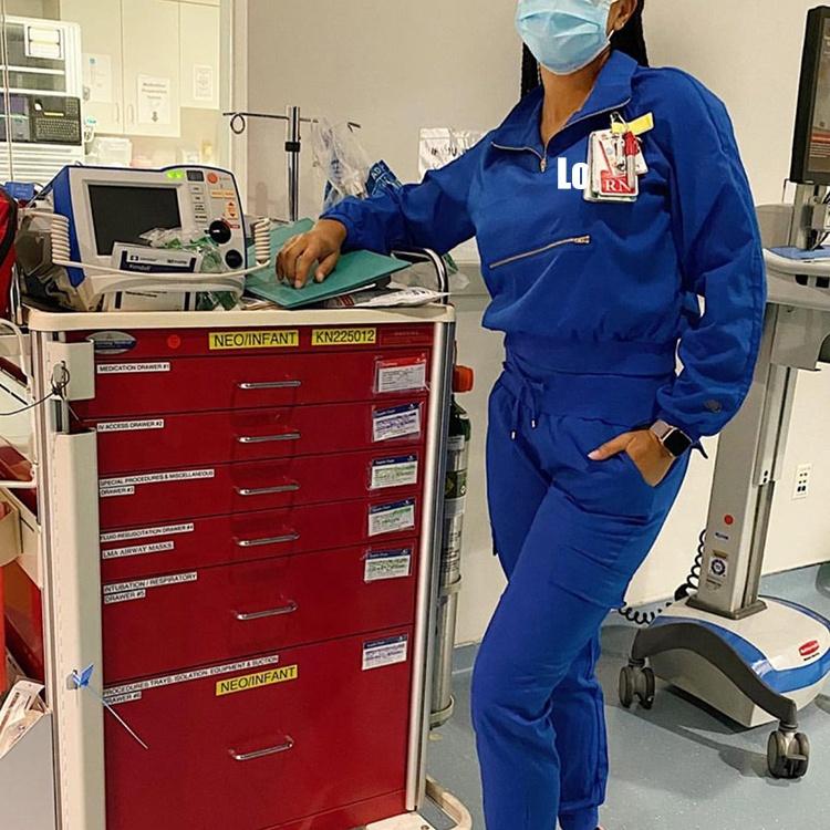 Top Quality Nurses Uniform Medic Scrub Joggers Pants Stretchy Fashionable Uniforms Medic Scrubs Uniforms Sets