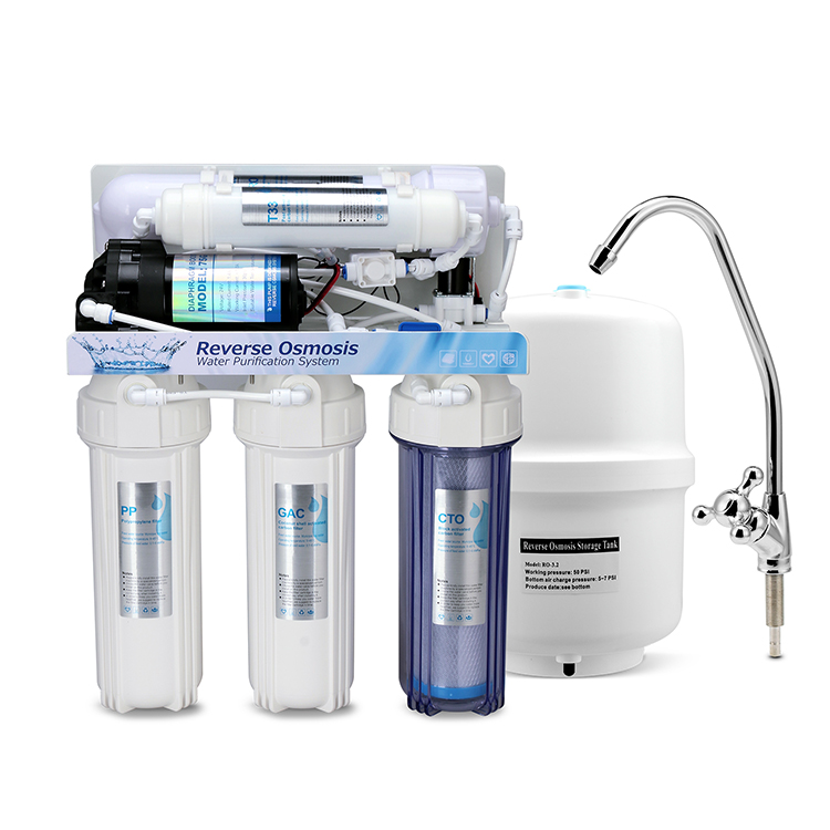 High Quality OEM Water Filter RO Machine Cheap water filter price Best Reverse Osmosis System For Home