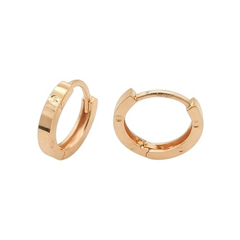 1000S Jewelry Earrings For Bridal Wedding 18K Rose Gold Earrings Jewelry Online Huggie Earrings For Women In The Party