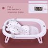 Pembe + bebek banyo yatak + sıcaklık ekran