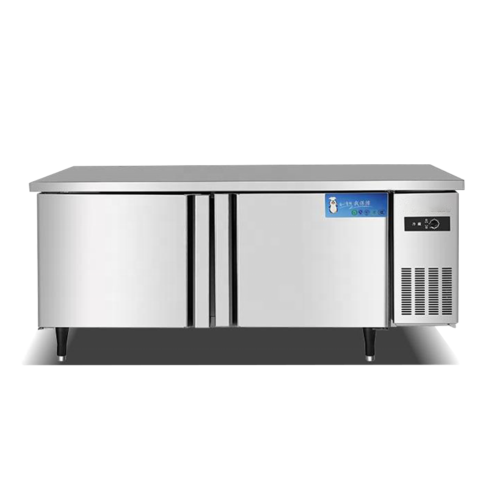 Banco di Lavoro da cucina-Hotel di Impianti di Refrigerazione Banco di Lavoro Frigo/Ristorante In Acciaio Inox Petto Congelatore