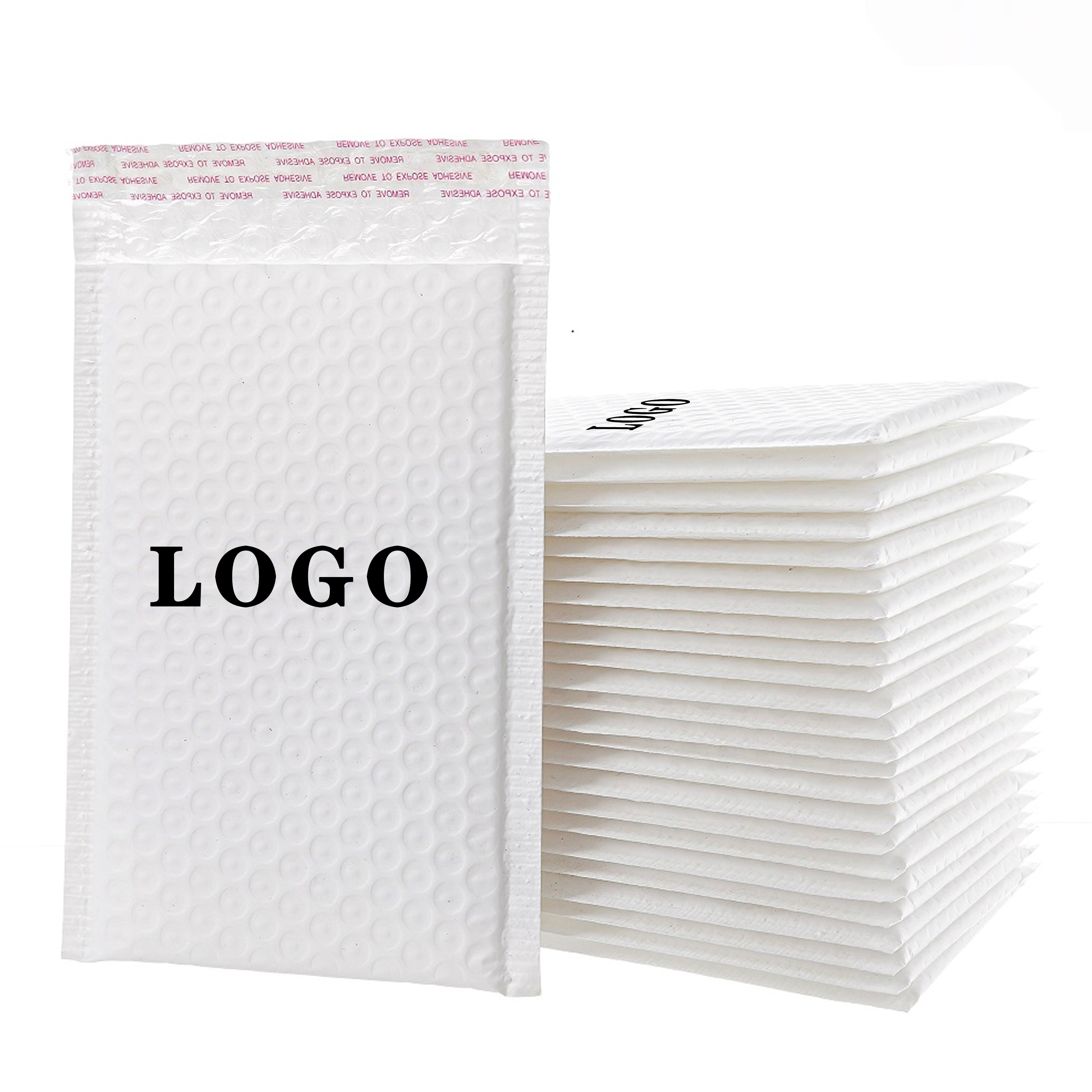 High-quality Air Packaging Poly Shipping Custom Logo Envelope Mailings Wrap Bag Bubble MailerHot sale products
