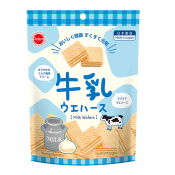 Japanese biscuits and cookies low carb wafer cookies biscuit with creamy milk cream