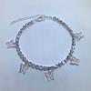 Argent-blanc diamant