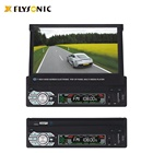 "Dvd FY8001 Single Din Car Radio Player With Retractable 7"" TFT Touch Screen Without DVD"
