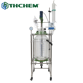 100L Glass Bio Stirred Tank Reactor for USA Market