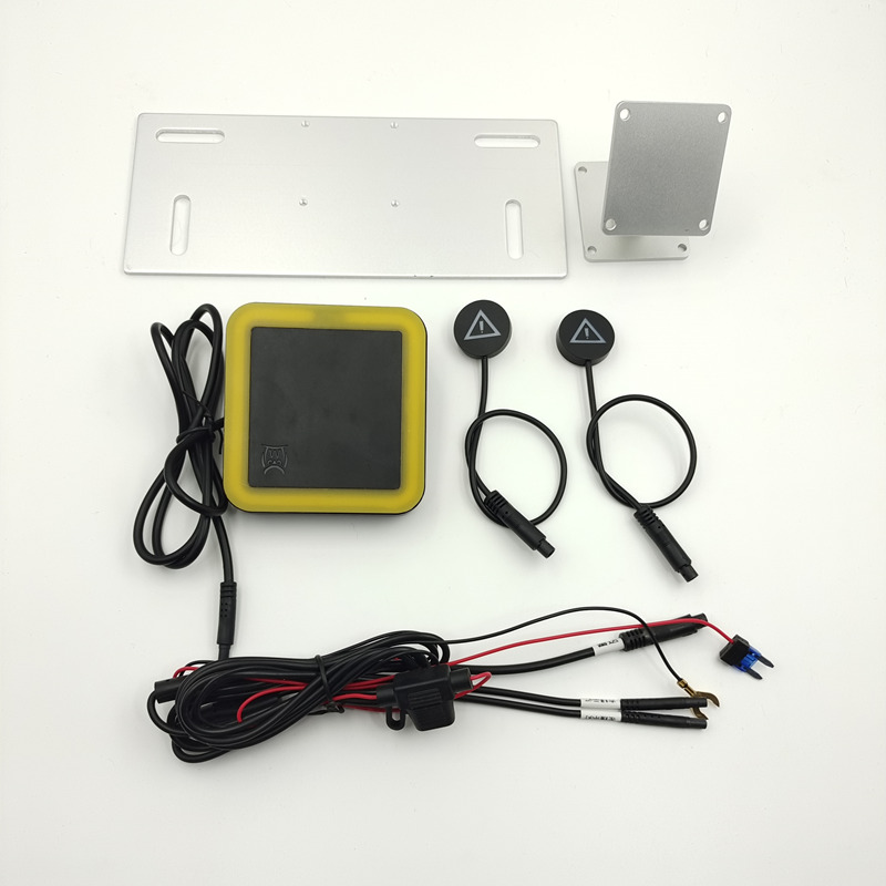Motorcycles blind spot detection system 79G