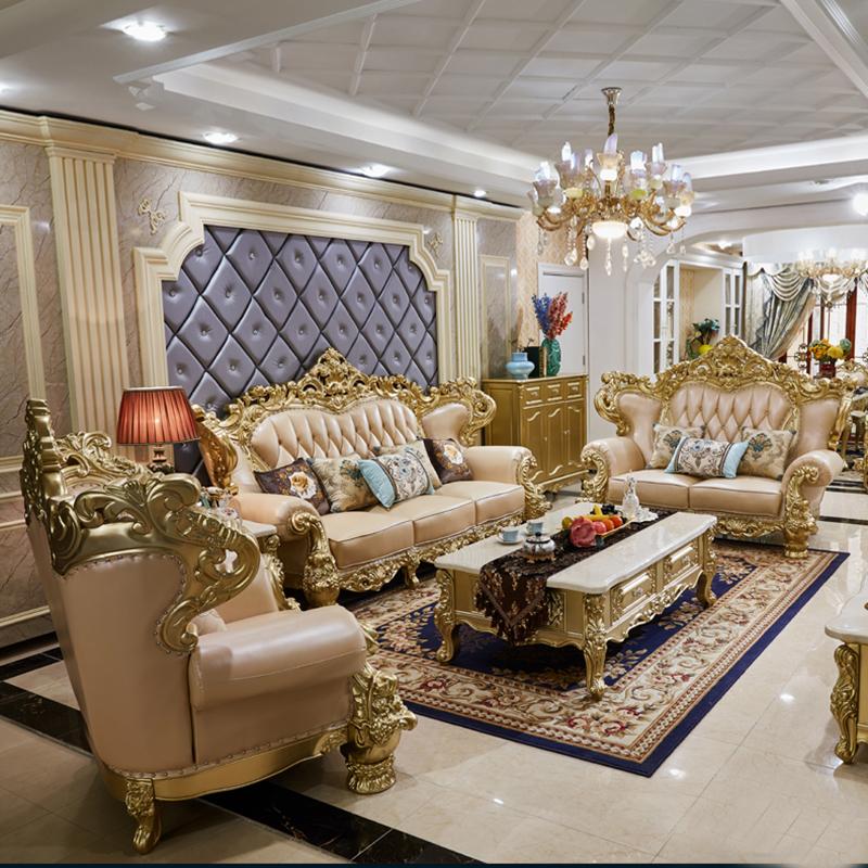 2020 new style royal living room sofa luxury furniture sofa