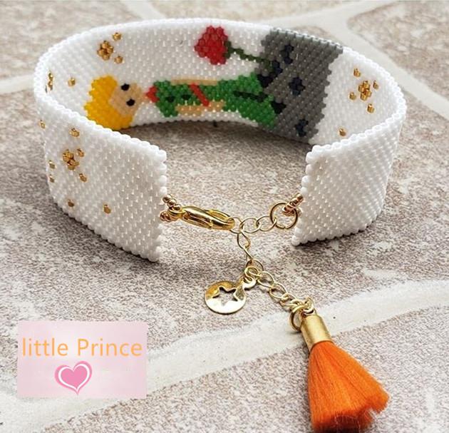 The Little Princes Inspired Designs Seed Beads Adjustable Miyuki Bracelet Buy Diy Seed Bead Bracelet Hand Made Bracelet Made Of Beads Seed Beads Jewelry Bracelets Product On Alibaba Com