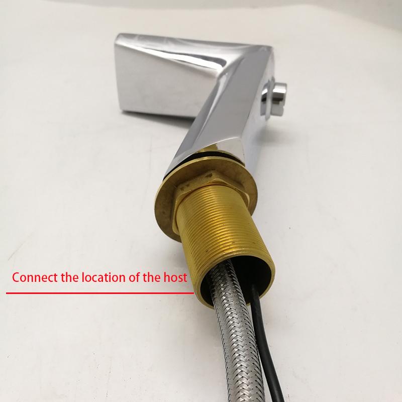 Цифровой водопроводной воды типа умный Смесители для ванной комнаты