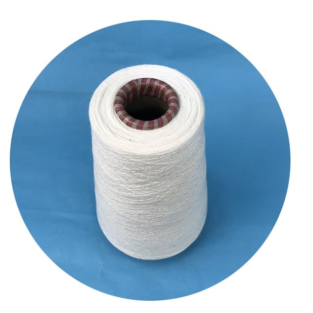 Дешевая хлопчатобумажная нейлоновая Пряжа 20S для рабочей одежды