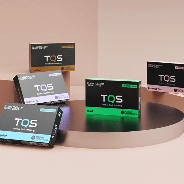 Новые продукты, стильные растительные экстракты TQS, без табака, не сжигает палочки