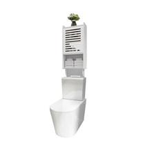 Настенная стойка для хранения, водонепроницаемая, Не пористая полка для ванной комнаты, стеллаж для хранения над туалетом, шкаф для хранени...(Китай)