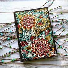 AZQSD алмазная живопись, мозаика, блокнот специальной формы, цветочные узоры Мандала A5, дневник, книга, вышивка, подарок, сделай сам(Китай)