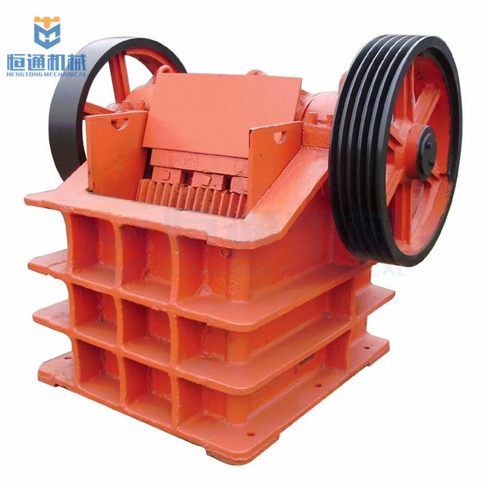 Lab jaw crusher Primary crushing machine Double Roll Crusher with belt conveyor station