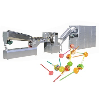 Small scale candy making machine lollipop making machine stick candy machine