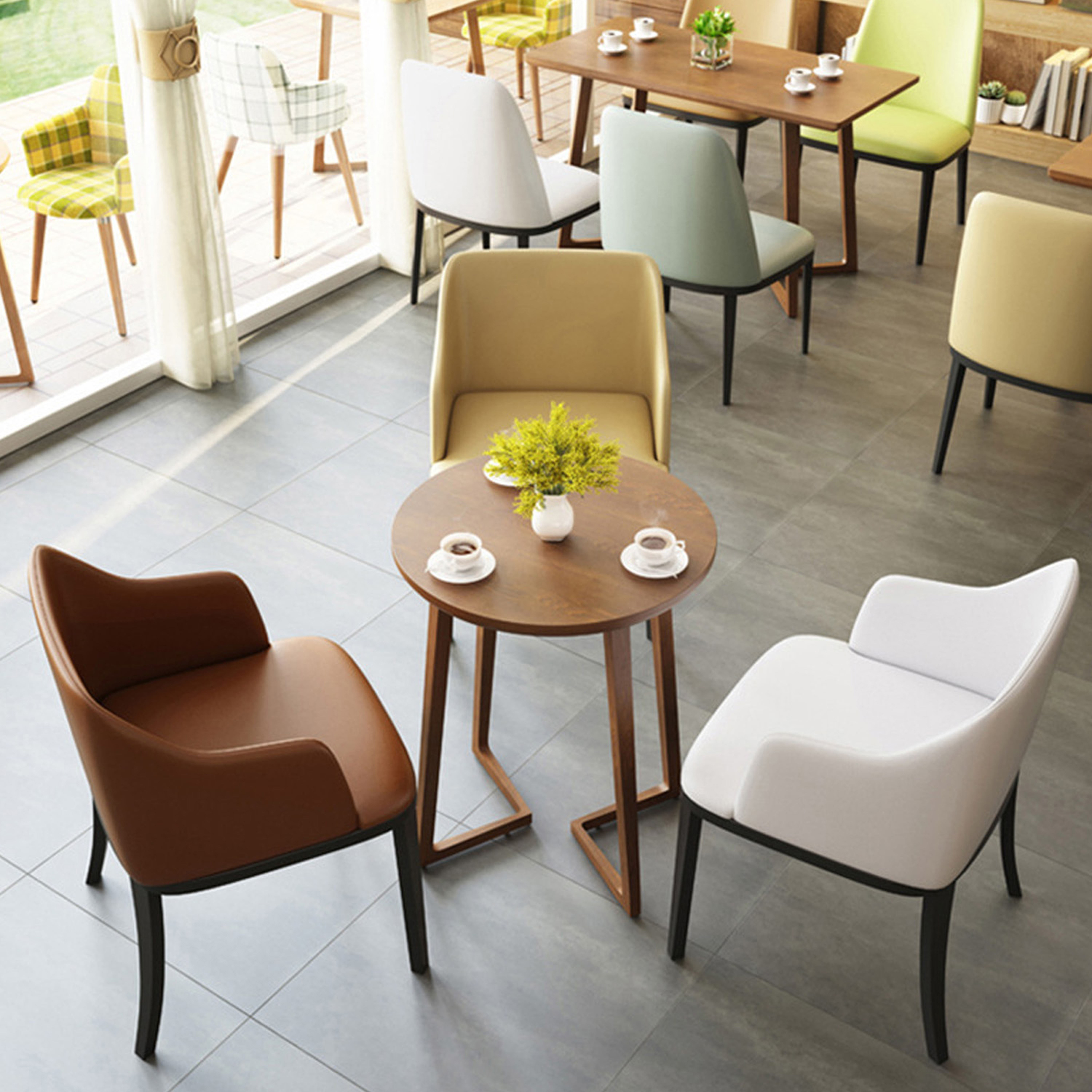 Modern Coffee Shop Cafe Chairs And Tables Buy Cafe Chairs And Tables Modern Cafe Chairs And Tables Coffee Shop Tables And Chairs Product On Alibaba Com