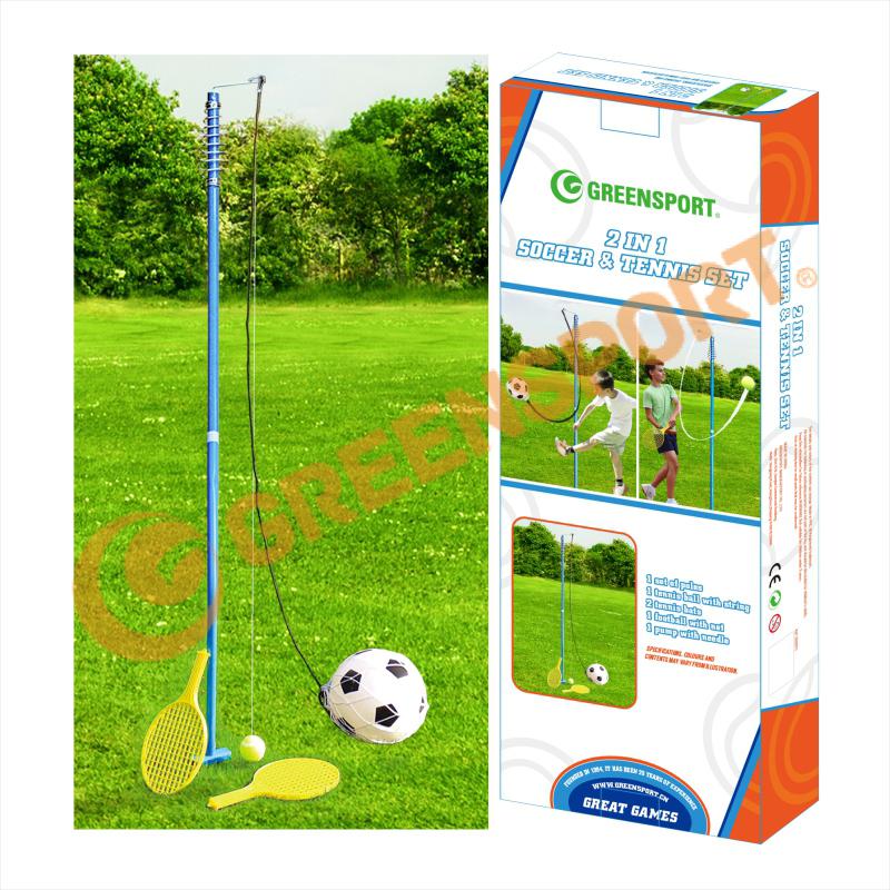 Свингбол набор металлических Теннисный тренажер с теннисная ракетка