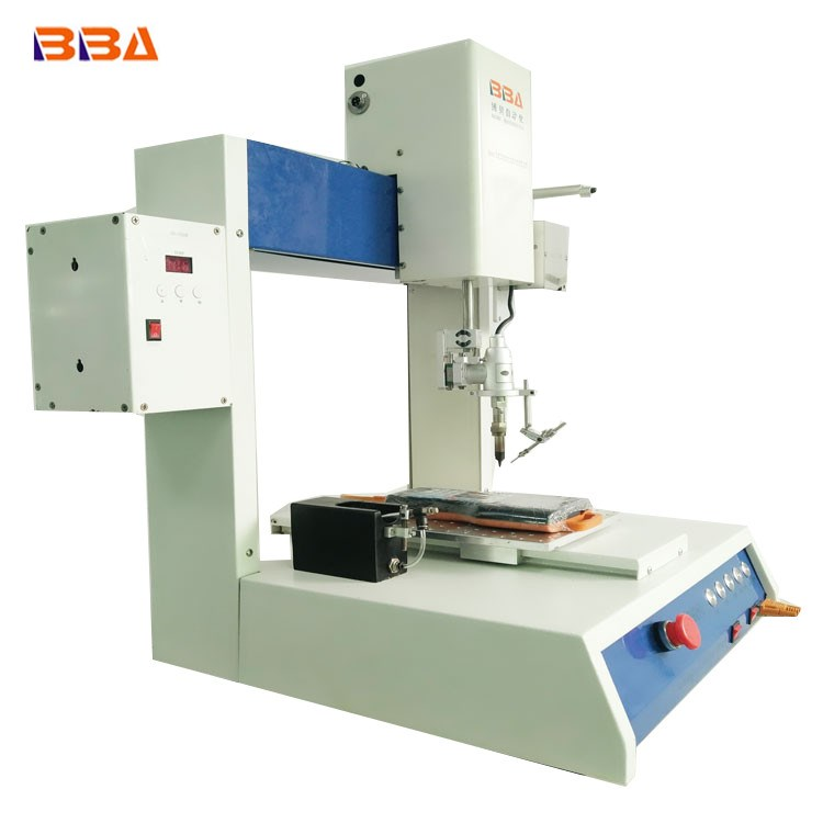 Automatic soldering machine with rotating R spindle solder machine factory machinery