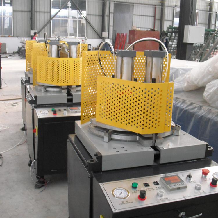 upvc pvc door window making single head welding machine