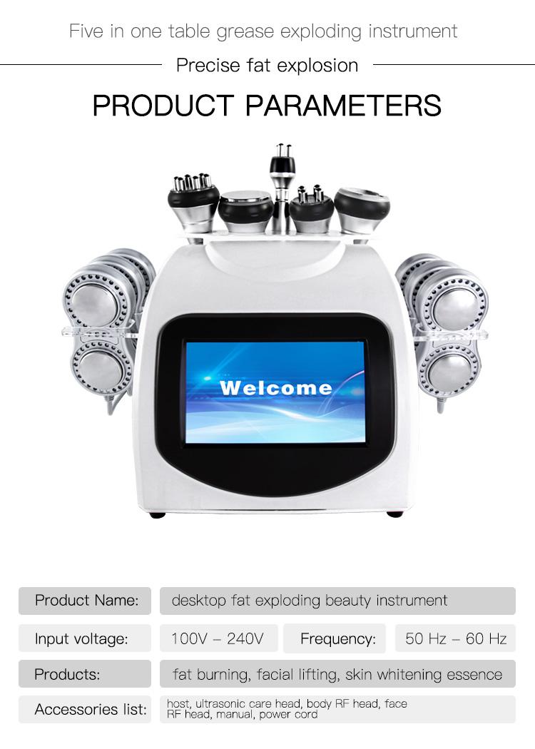 wholesale cavitation slimming machine ultrasonic cavitation machine price liposuction cavitation machine