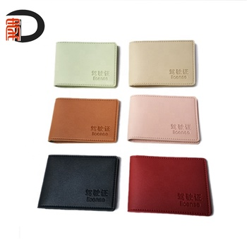 RTS Amazon Hotselling Card & ID Holders PU Leather Slim Wallet Business Driver License Card Case