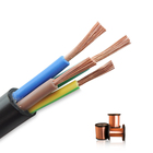 Cable Power RVV High Quality Multi-Core Cable Wire 2 3 4 Cores Copper Wires Flexible Electric Wire PVC Power Construction Building Cabling