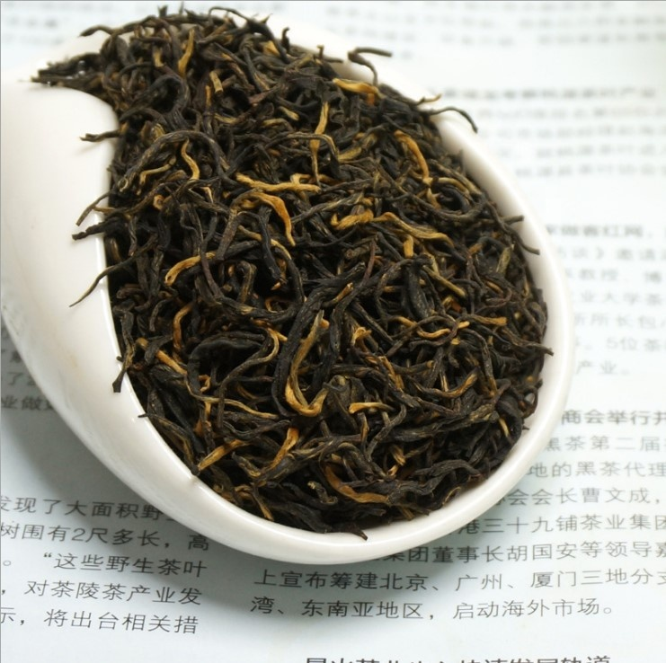 Hot sale Chinese black tea Golden Eyebrow slimming tea Jin Jun Mei black tea - 4uTea | 4uTea.com