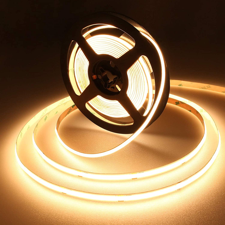 OX LIGHTING Blue Geen Cob гибкая светодиодная лента 8 мм Cob Светодиодная лента с чипом 512 светодиодов 480 светодиодов COB Светодиодная гибкая полоса освещения