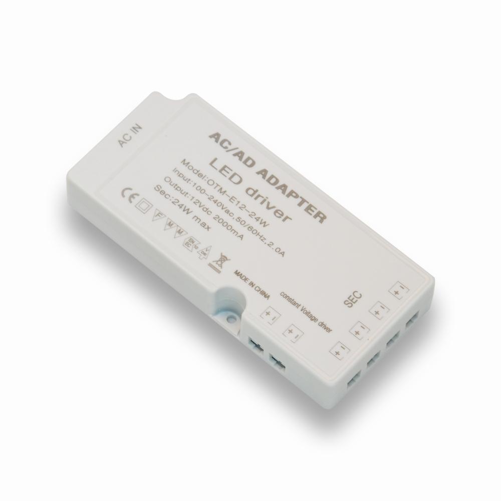 Otm-e12-18w 100-240vac 2.0a вход 12vac dc 2000ma24w ультратонкий и DuPont терминал постоянного напряжения источник питания, светодиодный драйвер