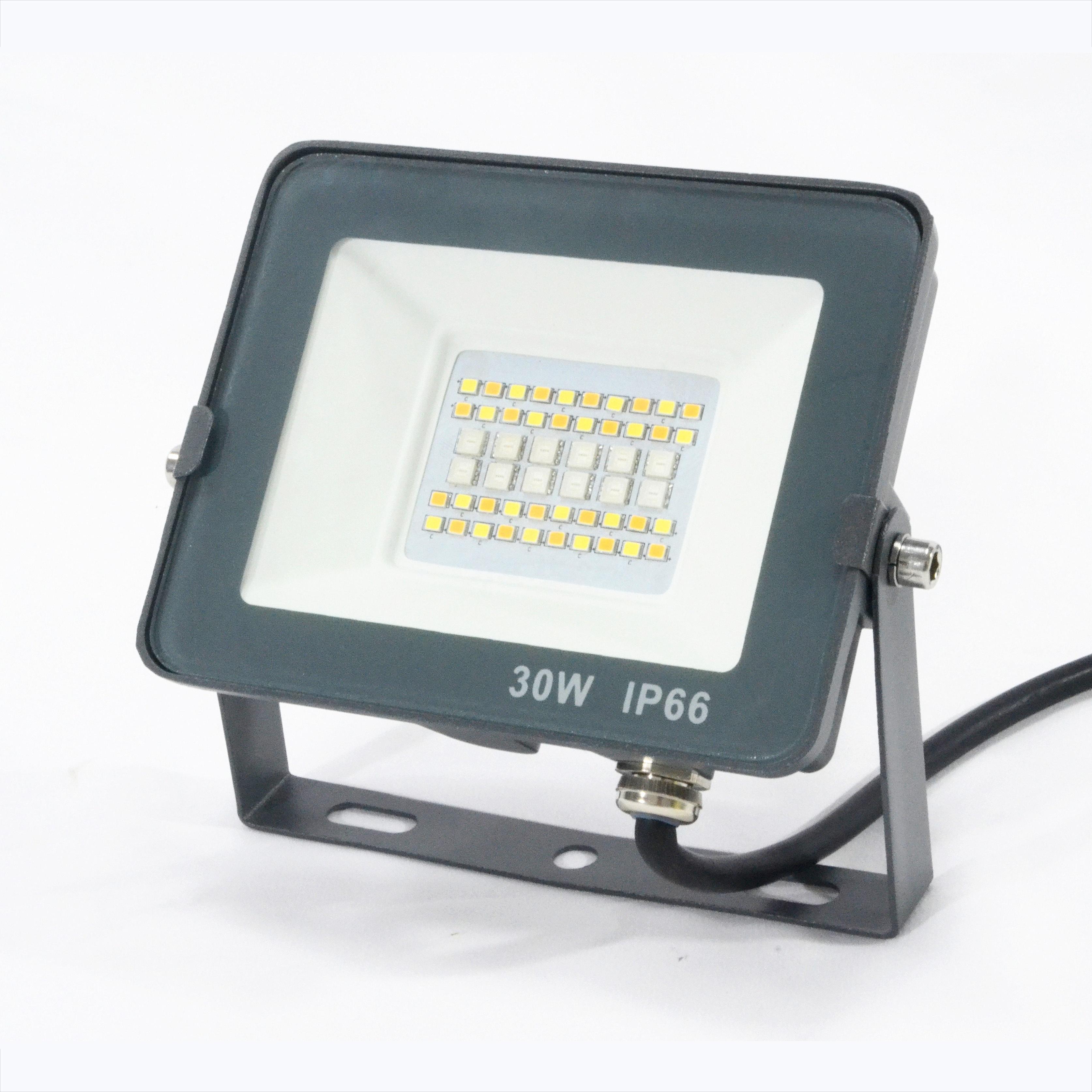 Unique Design Voice Smart Controlled Ultra Slim 30 Watt Projector Phone Panel Ktv Rgb Led Flood Light Kit