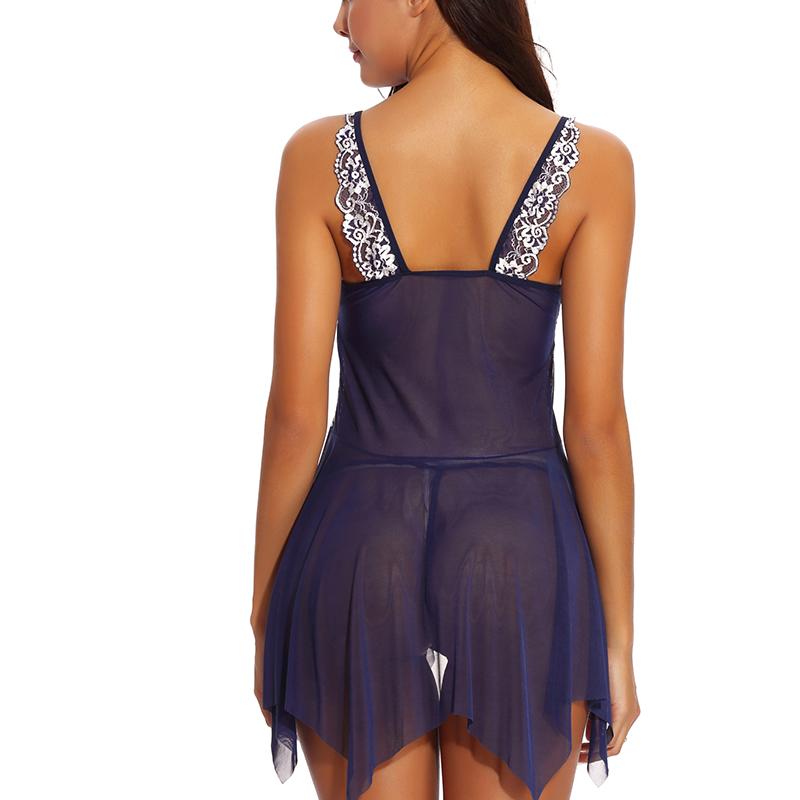 Lingerie for Women Lace Babydoll Sleepwear Boudoir Outfits Plus Size Lingerie S-4XL