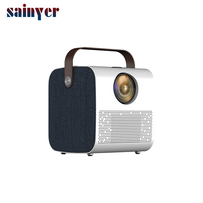Sainyer Q3 Newest Full HD LED LCD mini portable projector supported 1080P for home theater ($16 Extra for Android)