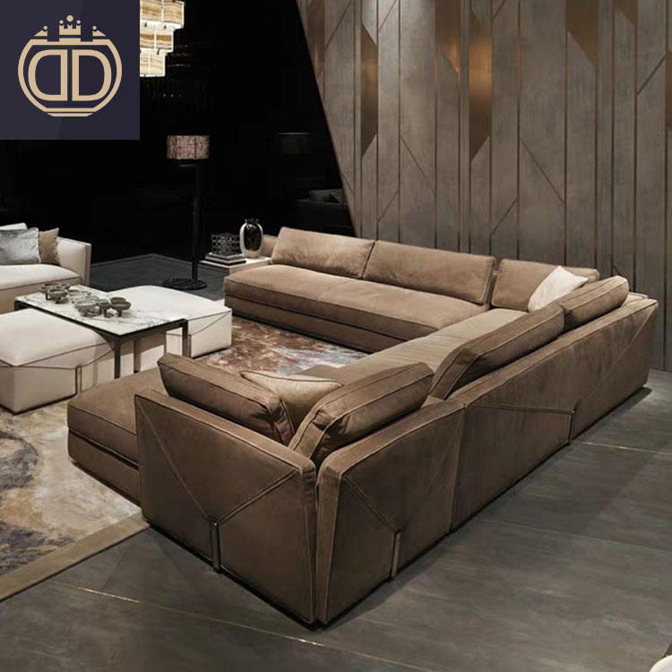 7 seater couch living room sectional modern wooden sofa set designs leather