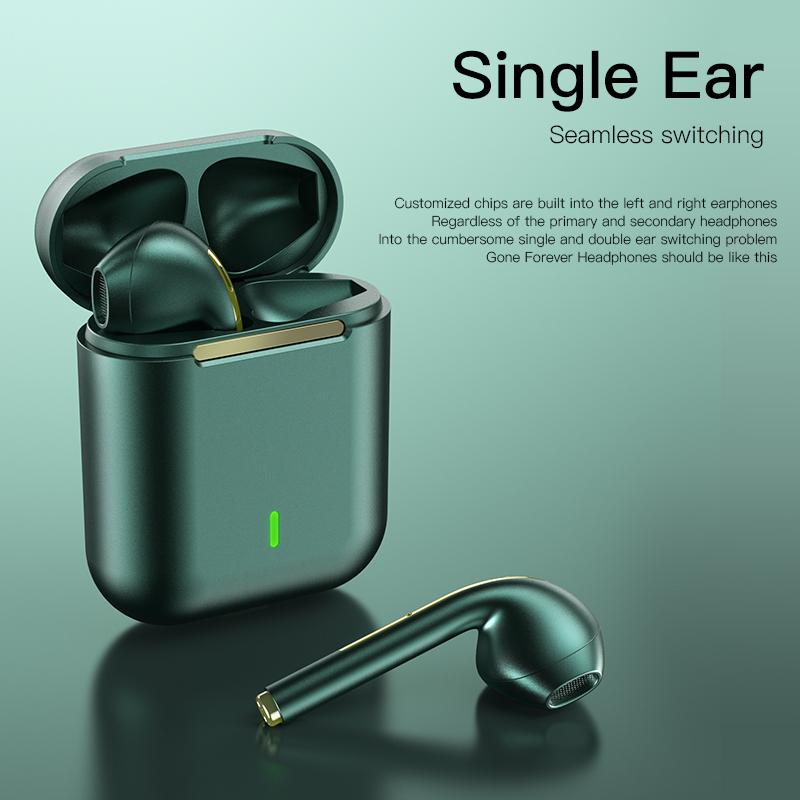 Наушники J18 Tws Bt 5,0 In Ear универсальные спортивные водонепроницаемые беспроводные наушники