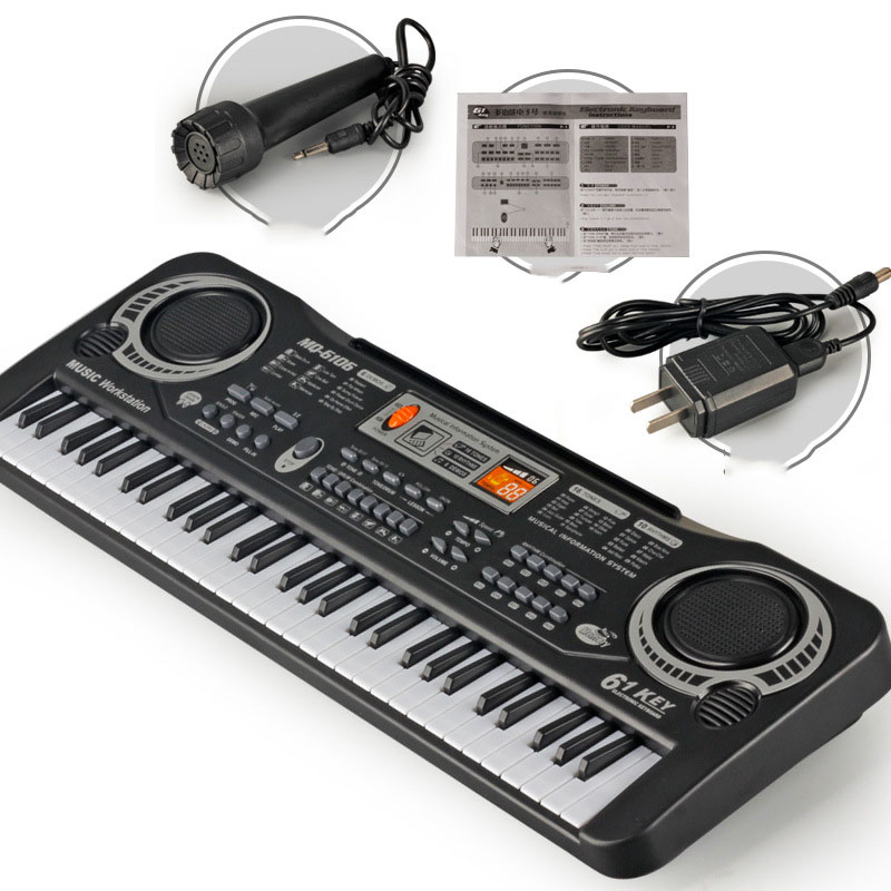 Оптовая продажа, новинка 2020, Детский развивающий Интеллектуальный музыкальный инструмент, клавиатура, игрушка, электронный орган, пианино, музыка для детей