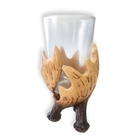 Craft Crafts Hot Products Resin Craft Decoration Animal Resin Crafts Resin Deer Teeth Cup