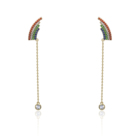 Earring Earrings 2021 Top Sale 18K Gold Multi Style Charm Long Earring Clip Tassels For Women Girl Party Gift