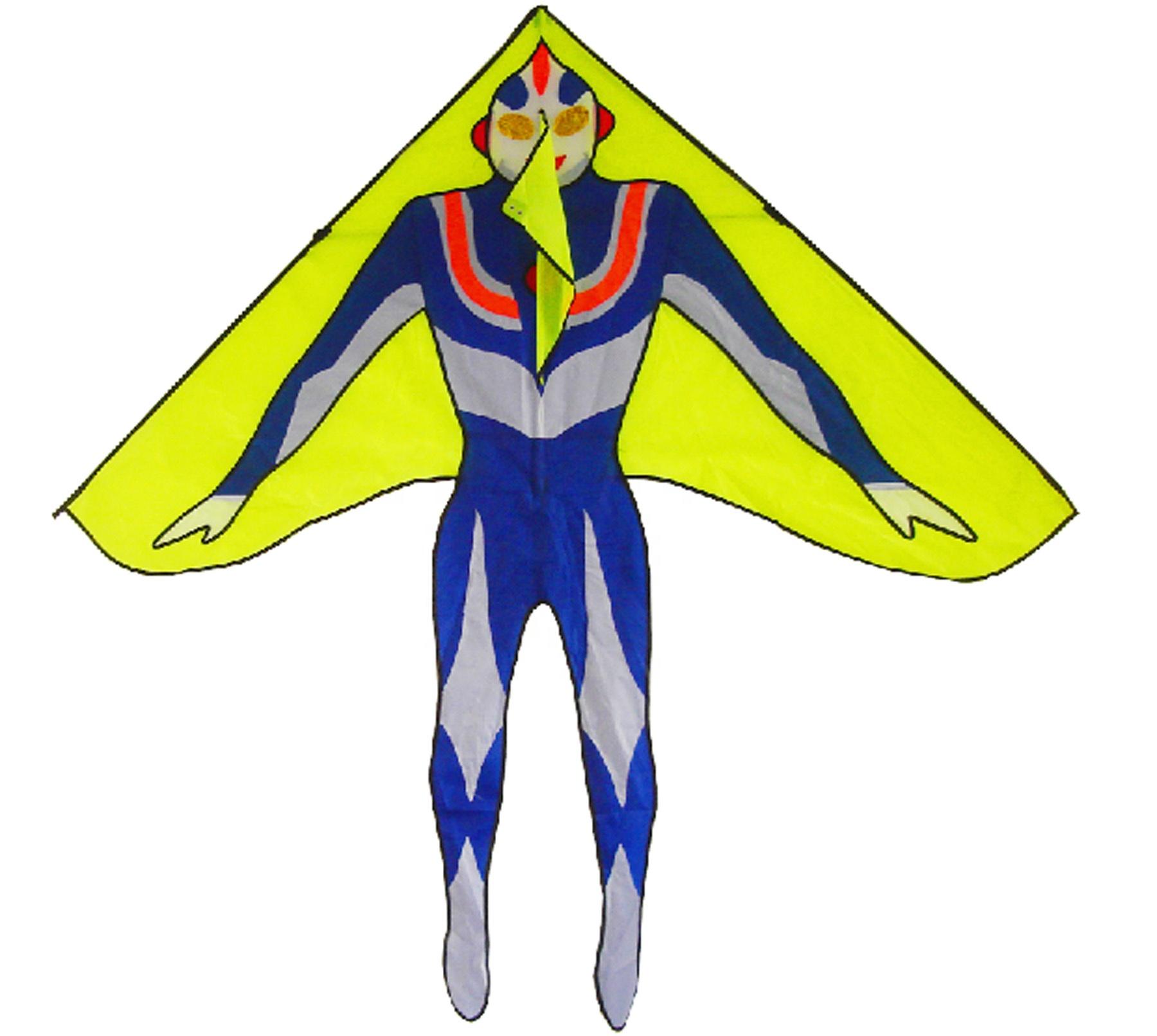 Персонализированный мультяшный инопланетянин НЛО воздушный змей подарок для детей